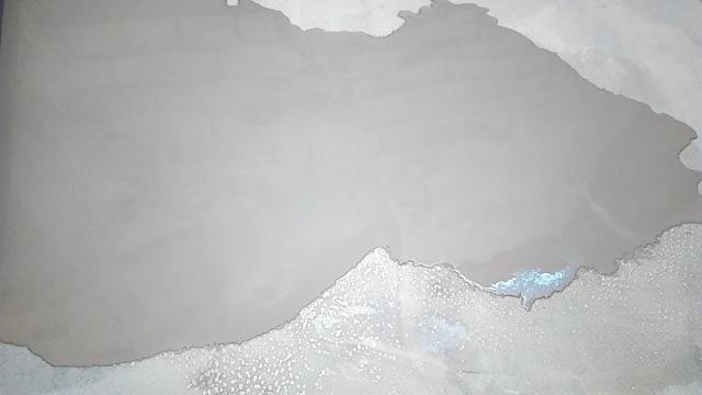 Наливной пол на бетонную стяжку. Эксперимент с применением дешёвой грунтовки - LALAMASTER.RU