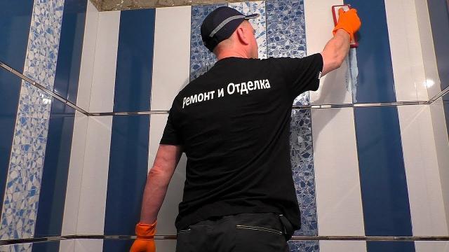 Лучшее решение в ремонте ванной комнаты. Затирка межплиточных швов эпоксидной затиркой - LALAMASTER.RU