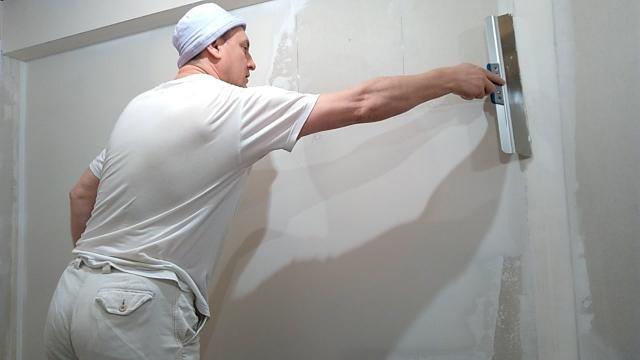 Шпатлевание стен из гипсокартона под обои. Как снять обои с гипсокартона - LALAMASTER.RU
