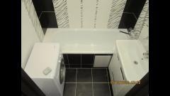 Дизайн и отделка ванной комнаты плиткой Кайман