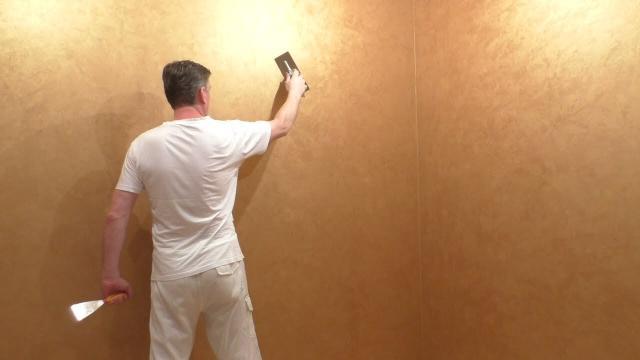 Отделка стен в комнате. Мастер-класс по нанесению декоративного покрытия на стены из гипсокартона - LALAMASTER.RU