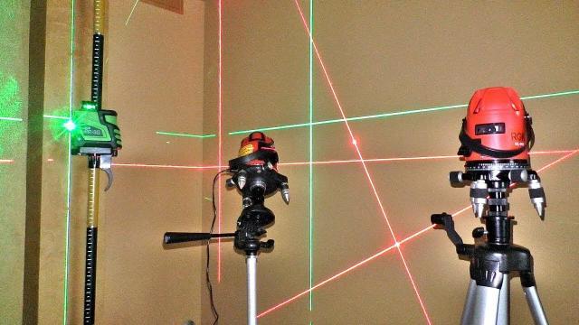 Как выбрать лазерный уровень для ремонта квартиры и не только - LALAMASTER.RU