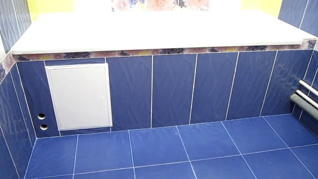 Секрет монтажа экрана под ванной из гипсокартона - LALAMASTER.RU