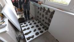 Утепление балкона или лоджии. Самый простой способ. Теплый балкон