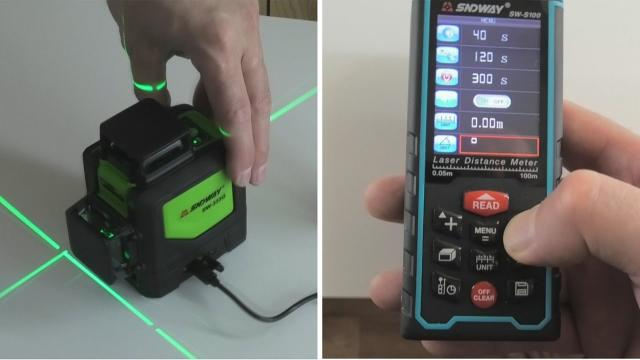 Обзор недорогого лазерного уровня и дальномера из Китая. Sndway. Проверяем точность - LALAMASTER.RU