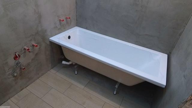 Как установить акриловую ванну своими руками? Надежная установка - LALAMASTER.RU