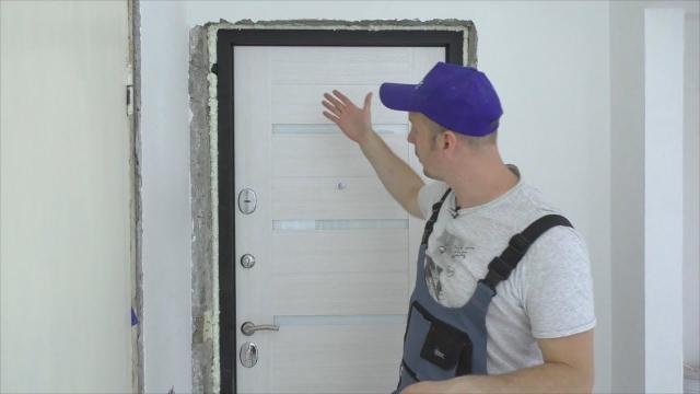 Как установить входную металлическую дверь своими руками - LALAMASTER.RU