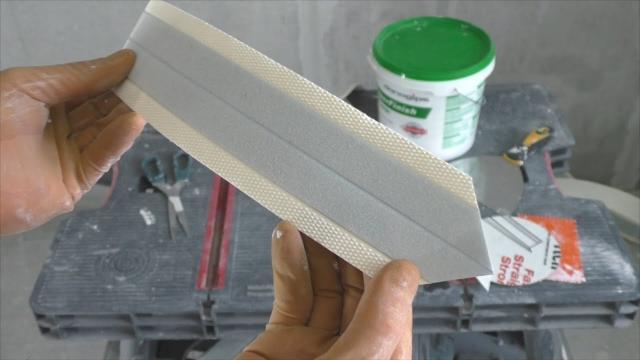 Как подготовить углы под покраску? Лента Strait-flex - LALAMASTER.RU